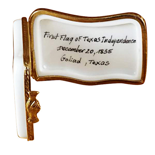 Goliad Flag Rochard Limoges Box