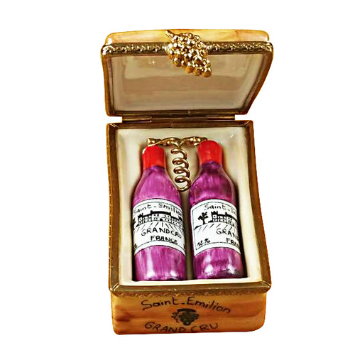 Wine Crate Taster Set Rochard Limoges Box RW015-K