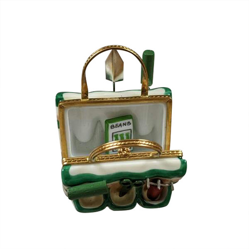 Garden Bag W/Tools Limoges Box RY095-M