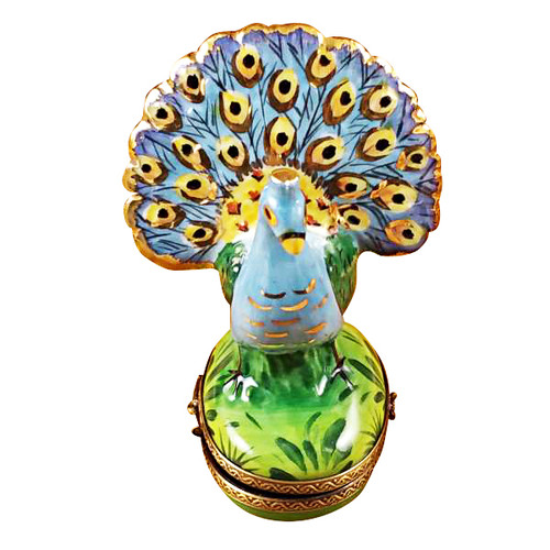 Limoges Imports Peacock Limoges Box