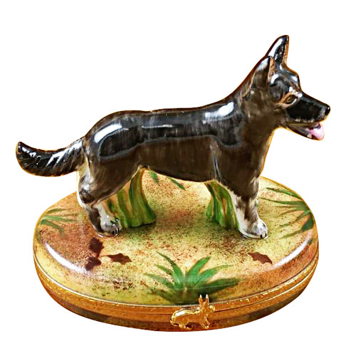 Limoges Imports Wolf Limoges Box
