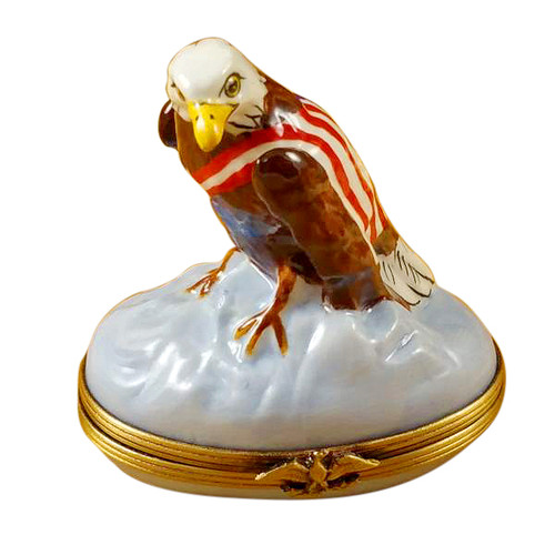 Limoges Imports American Eagle Limoges Box