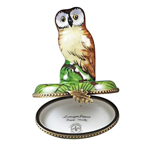 Limoges Imports Wise Owl Limoges Box