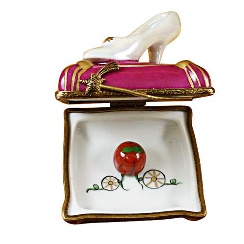 Limoges Imports Cinderella Slipper Limoges Box