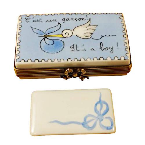 Limoges Imports It'S A Boy! Limoges Box