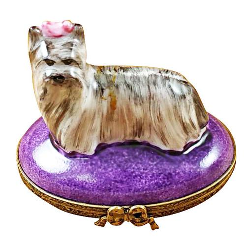 Limoges Imports Yorkshire Terrier Limoges Box