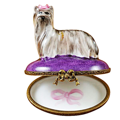 Limoges Imports Yorkshire Terrier Limoges Box