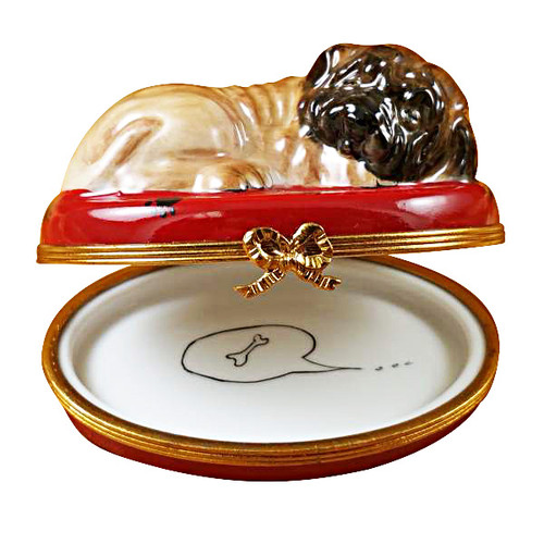 Limoges Imports Sharpei Limoges Box