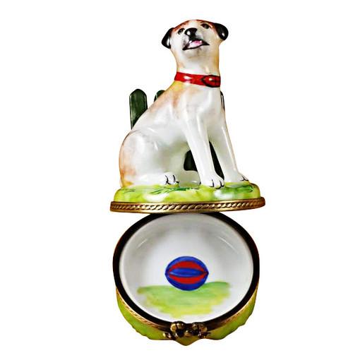 Limoges Imports Jack Russel Terrier Limoges Box