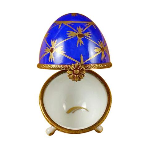 Limoges Imports Blue Footed Egg Limoges Box