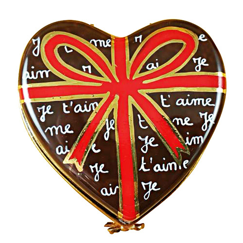 Limoges Imports Heart Of Chocolate Limoges Box