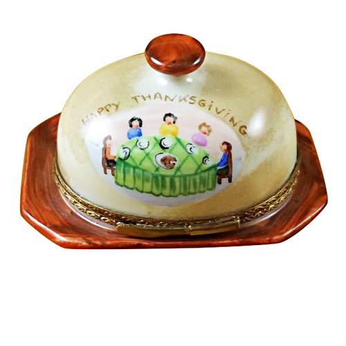 Limoges Imports Turkey Under Porcelain Limoges Box