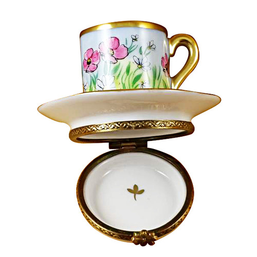 Limoges Imports Cup & Saucer Limoges Box