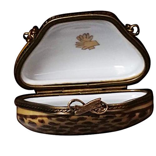 Limoges Imports Crocodile Purse Limoges Box