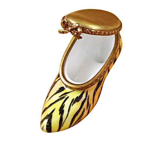 Limoges Imports Tiger Shoe Limoges Box