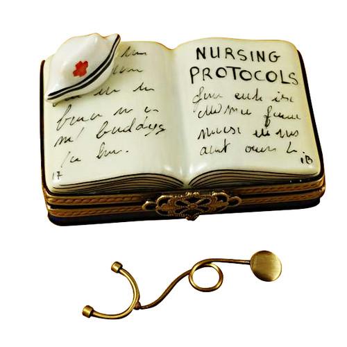 Limoges Imports Nursing Book Limoges Box