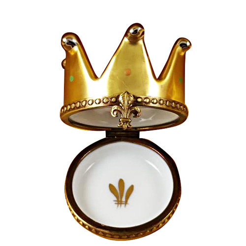 Limoges Imports King Crown Limoges Box