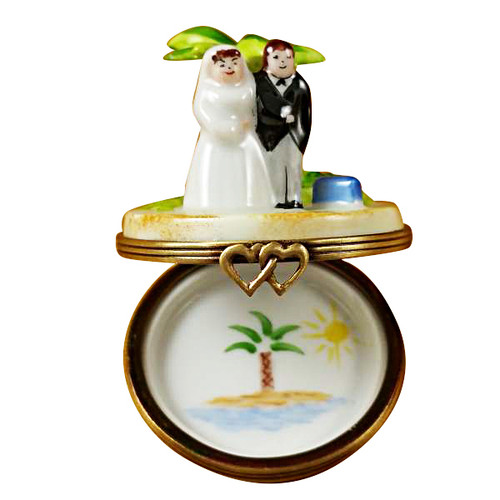 Limoges Imports Honeymoon Island Limoges Box