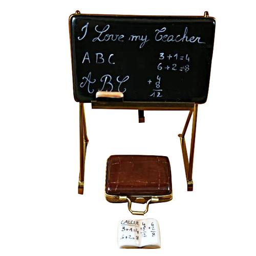 TEACHER'S BLACKBOARD Limoges Box RP057-M