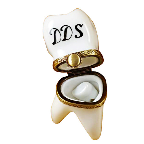 Limoges Imports Dds Tooth Limoges Box
