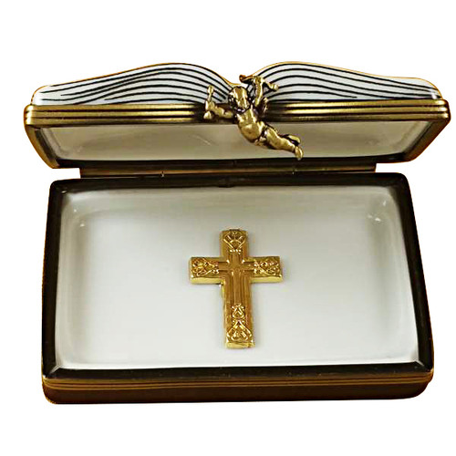Limoges Imports Open Bible Limoges Box