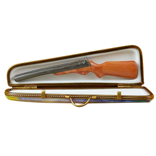 Limoges Imports Hunting Case W/Pheasant Limoges Box