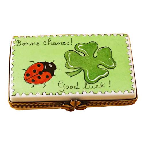 Limoges Imports Irish - Good Luck Limoges Box
