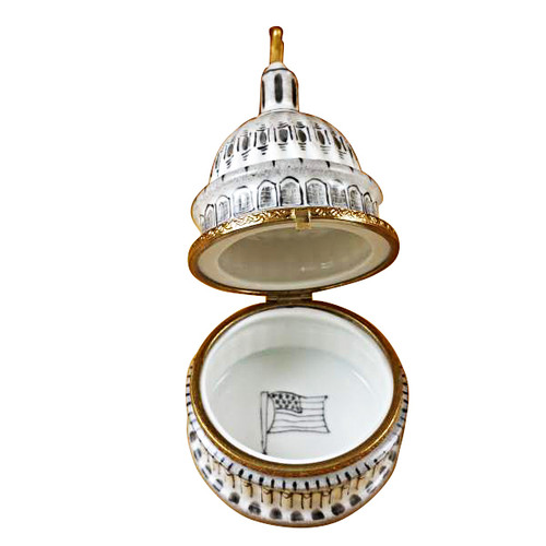 Limoges Imports U.S Capital Dome Limoges Box