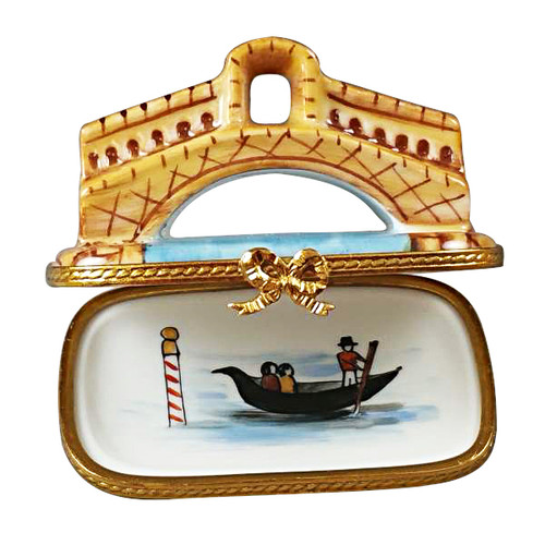 Limoges Imports Rialto Bridge In Venice Limoges Box