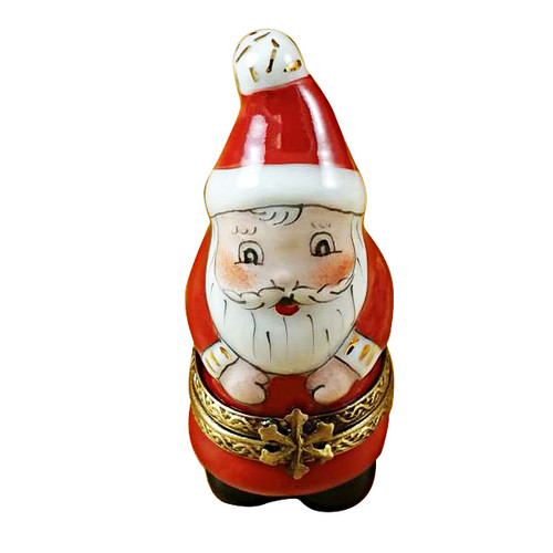 Limoges Imports Small Santa Limoges Box