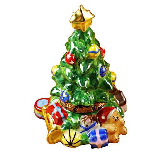 Limoges Imports Christmas Tree-Christopher Radko Limoges Box