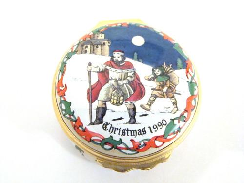 Halcyon Days 1990 Christmas Box