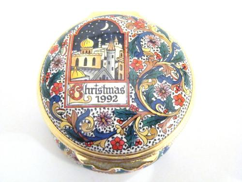 Halcyon Days 1992 Christmas Box