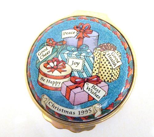 Halcyon Days 1995 Christmas Box