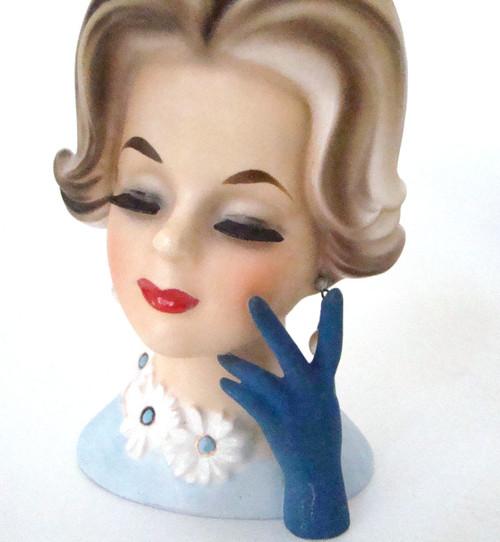 Vintage Head Vase Napcoware C6428