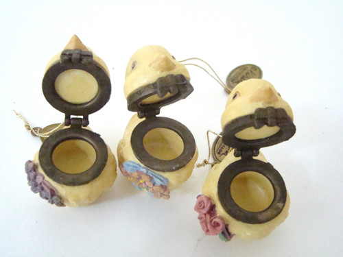 Katherine's Collection Set of 3 Chick Peeps Hinged Boxes