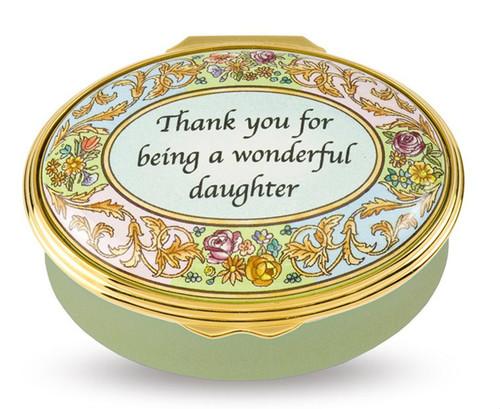 Halcyon Days Wonderful Daughter Box ENTWD0902G