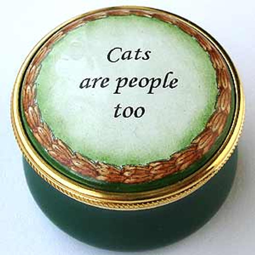 Staffordshire Cats Are People Too