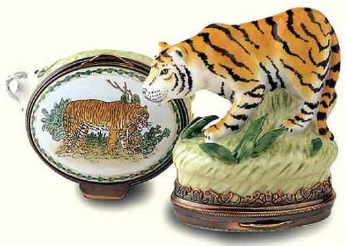 Staffordshire Tiger Bonbonniere