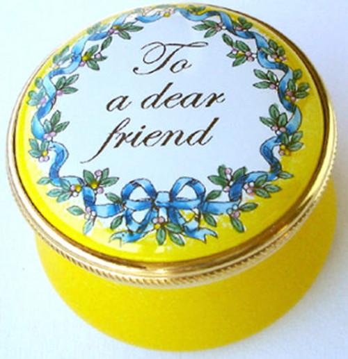 Staffordshire To A Dear Friend