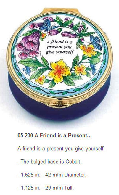 Staffordshire A Friend is a Present
