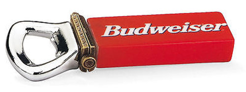 Budweiser Bottle Opener with Bottle Cap PHB