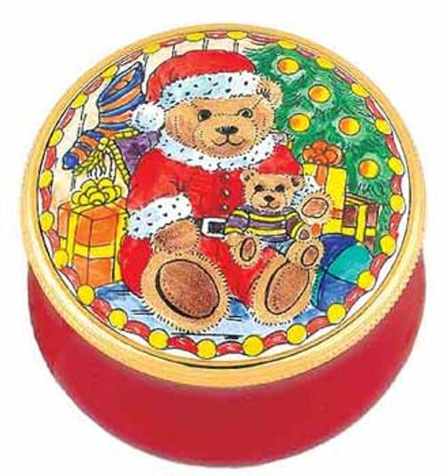 Staffordshire Teddy Santa