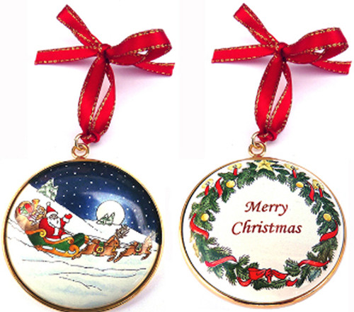 Staffordshire Christmas Ornament #2 (08-209)