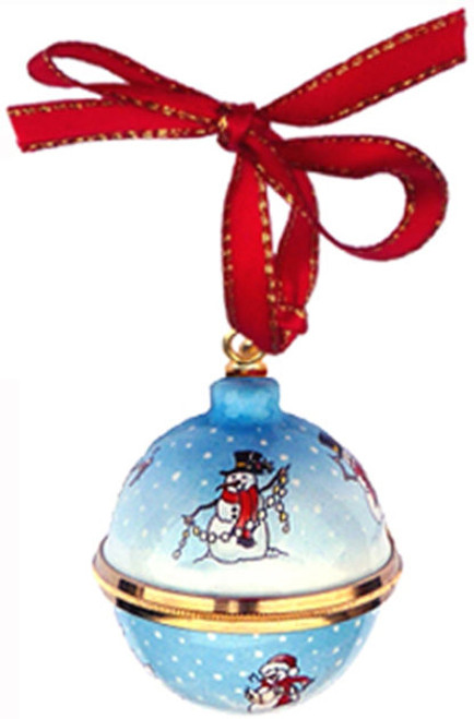 Staffordshire Christmas Ball Ornament (55-072)