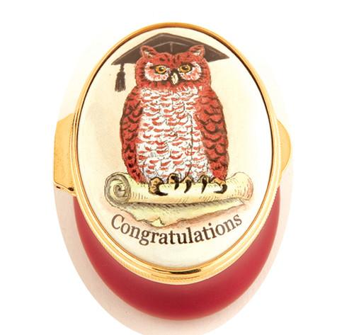 Staffordshire Congratulations - Owl (21-208)