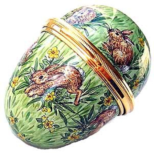 Staffordshire Big Bunny Egg