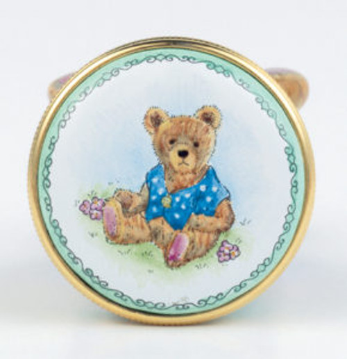 Staffordshire Teddy Blue B/B