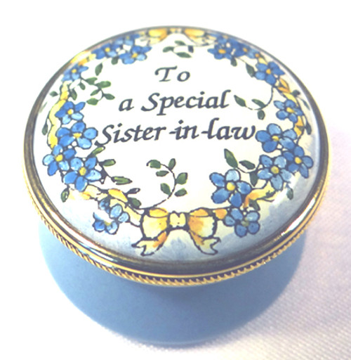 Staffordshire To A Special Sister In Law (03-286)