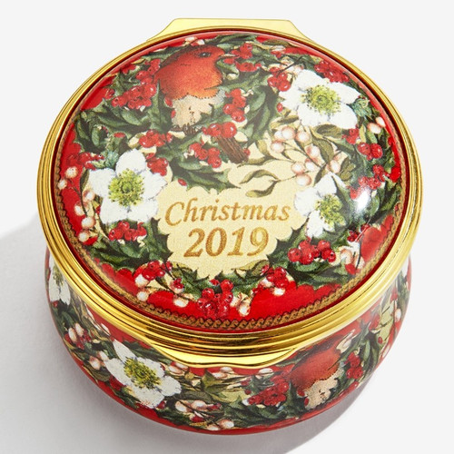 Halcyon Days 2019 Christmas Box ENCH190101G